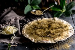 Zaatar with Cheese Saj