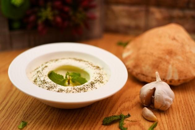 Labne with Garlic