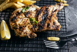 Half Grilled Chicken