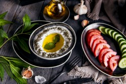 Labneh with Garlic