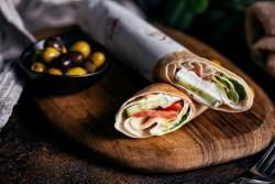 Labneh W Khodra Sandwich