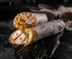 Lebanese Taouk Sandwich