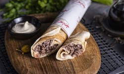 Shawarma Meat Sandwich
